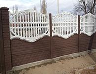 купить забор из бетона в рязани